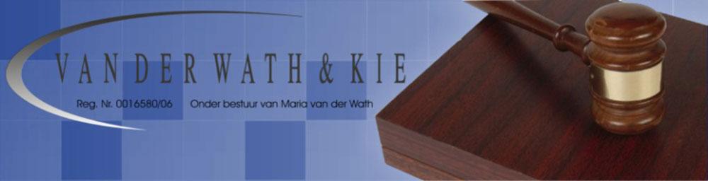 Van Der Wath & Kie Skuldinvorderaars